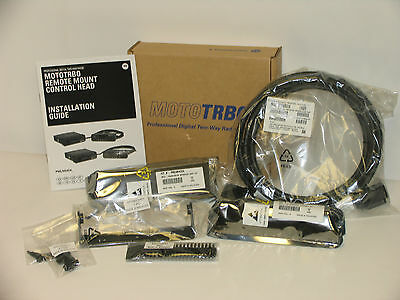 Motorola MOTOTRBO Remote Mount Adapter Kit PMLN6404A & 3M Remote Cable PMKN4143A
