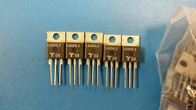 (10 PCS) L6004L3 TECCOR Thyristor TRIAC 600V 40A 3-Pin(3+Tab) TO-220AB Isolated