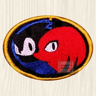 Sonic & Knuckles Logo Embroidered Patch The Hedgehog Sega Genesis Tails 4