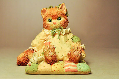 Calico Kittens - You'll Always Be Close To My Heart - 627909 - Kitten On Quilt