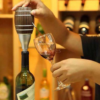 Handheld Electric Red Wine Dispenser Aerator Fast Wine Decanting Pumps Tool I8H9
