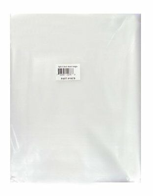 Big Horn 11781 Disposable Clear Plastic Dust Bags for Delta, Jet and Other 20...
