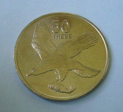 Botswana 50 Thebe 1976, African Fish Eagle