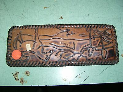 Vintage Brown Handmade Leather Wallet