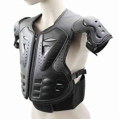 Body Armour Motorcycle Motorbike Motocross Kid Spine Protector Guard Jacket New