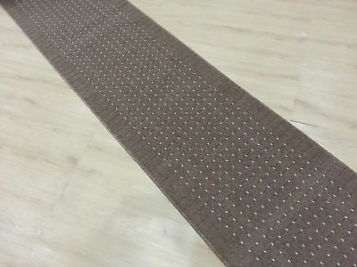 Hallway Runner Gold/Brown 80cm x 195 cm Rubberbacking non-slip/made in Greece