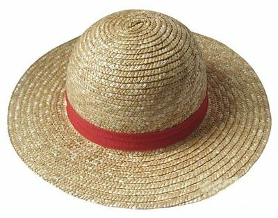Brand New Straw Summer Hat (ONE PIECE Luffy Cosplay Costume) from Japan