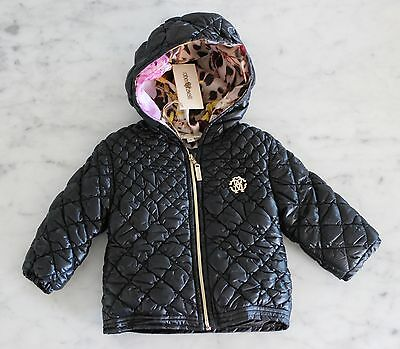 Roberto Cavalli Baby down jacket size: 3 months girl NEW