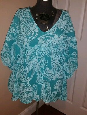 Fresh Produce Tunic Beach Cover Up Size Xs Nwot 65