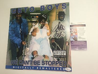 SCARFACE signed VINYL RECORD LP GETO BOYS We Can't Be Stopped  Rapper Rap JSA
