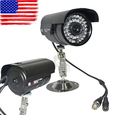 LOT1 900TVL HD Color Outdoor CCTV Surveillance Security Camera 36IR Night Video