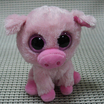 TY BEANIES BOOS Pig Corky  6 inch Stuffed toy MISSING TAGS SALE!! PLEASE READ
