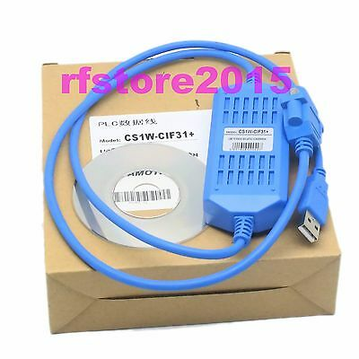 CS1W-CIF31 PLC Cable USB to RS232 adapter for omron PLC WIN10/8/7 VISTA