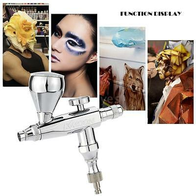 Make-up Airbrush 0.3mm 5&13cc Single-action Trigger Spraying for Cake Decor S4F6