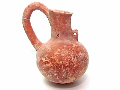 Ancient Canaanite Early Bronze Age pottery juglet, 3000 BC P3465