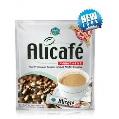 Alicafe Power Root 4 in 1 Instant Coffee No Sugar 20S x 12g Boost Energy