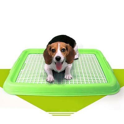 Indoor Puppy Dog Pet House Potty Training Pee Pad Mat Tray Toilet Odorless Hot