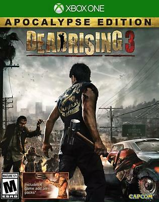 Dead Rising 3 Apocalypse Edition Xbox One Game Brand New & Sealed