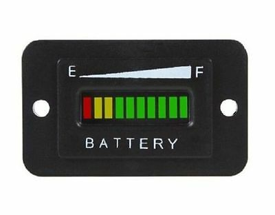 36V Volt Battery Charge Indicator Meter Gauge For EZGO Club Car Yamaha Golf Cart