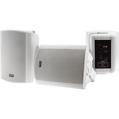 Wintal STUDIO6AW 6.5 Inch Active Powered Outdoor/Indoor speaker 35W RMS White AU