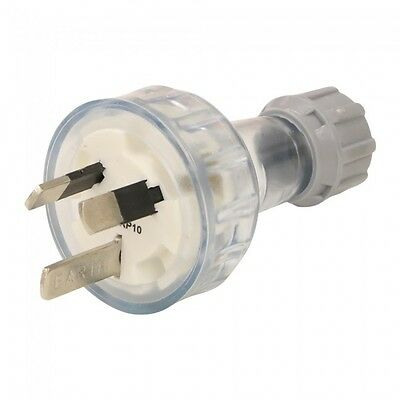 10 X 10AMP - 3 Pin Flat - Plug Top - Rewireable Plug Electrical 250Volt SAA