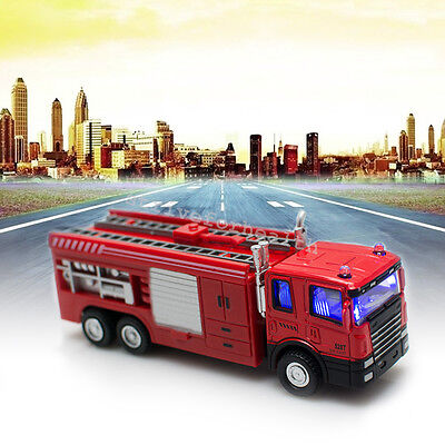 baby kids toys Powerful Electric Fire Engine Truck With 3D Lights And Sounds