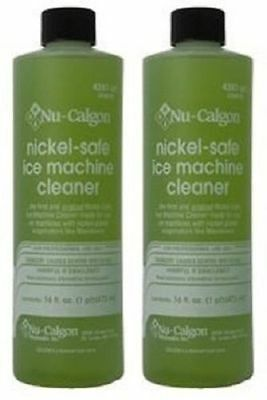 Nu-Calgon 4287-34 Nickel-Free Ice Machine Cleaner, 16 fl. oz.-OEM pack of 2