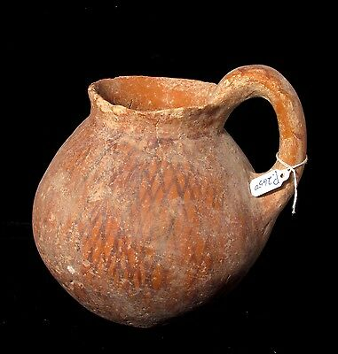 Ancient Canaanite Early Bronze Age pottery juglet, 3000 BC P2650