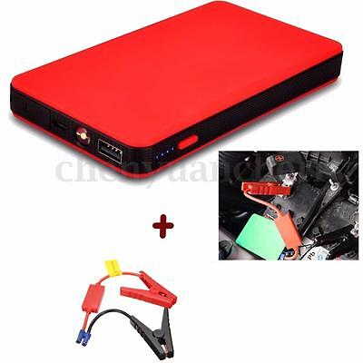 Popular 20000mAh Car Jump Starter Pack Booster Charger Battery Power Bank Red