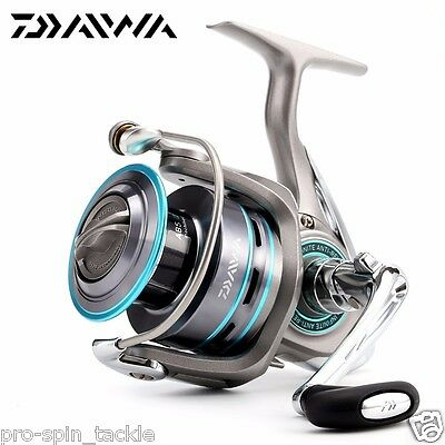 New Daiwa Procaster 2000A Spin Fishing Reel - 7 Bearings + Spare Spool