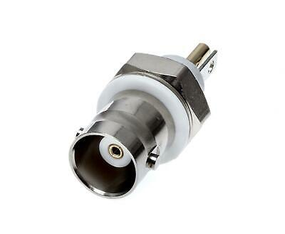 BNC connector RF Coaxial Isolated Bulkhead Jack Receptacle  50ohm 4GHz