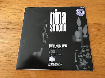 """Nina Simone - Little Girl Blue - 1987 Charly 7"""" P/s - Buy More Save Postage Look"""
