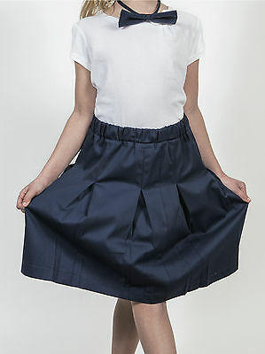 Gonna Scuola Uniforme Divisa Bambina Girl Child School Uniform Skirt PG01K-MR