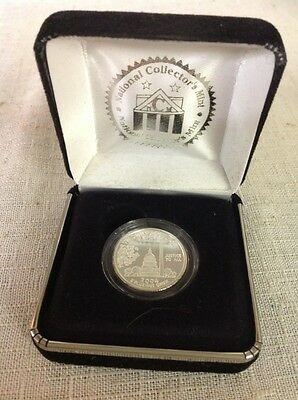2004 .999 PURE SILVER 51st STATE QUARTER PROOF NATIONAL COLLECTORS MINT