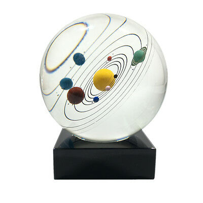 NEW Galaxy 8 Planets Solar System Planet Crystal Ball Decor Astronomical Gift