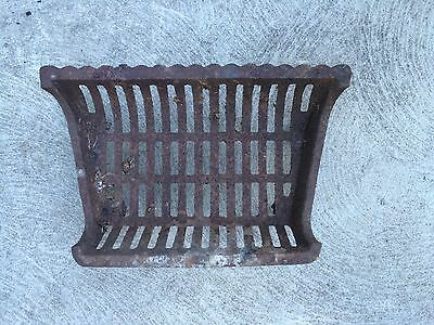 """18"""" Vintage Cast Iron Fireplace Grate Indoor and Outdoor Salvage"""