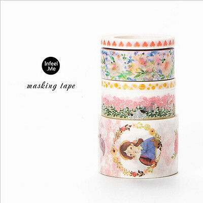 The Pinkie Young Girl Washi Tape DIY Masking Tape School Office Supply