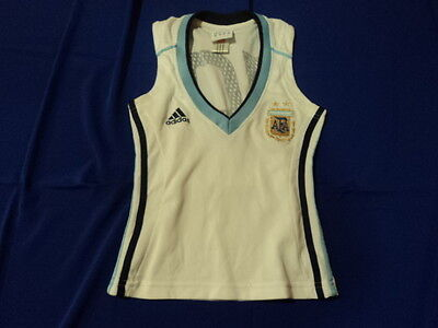 old  soccer Jersey maglia camiseta Argentina  adidas women 10