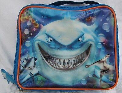 Disney Finding Nemo BRUCE The SHARK Lunchbox with Drink Bottle RETIRED