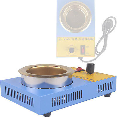 Lead-Free Solder Pot Stannum Tin Furnace For Iron Solder KLT-380 250W 220V