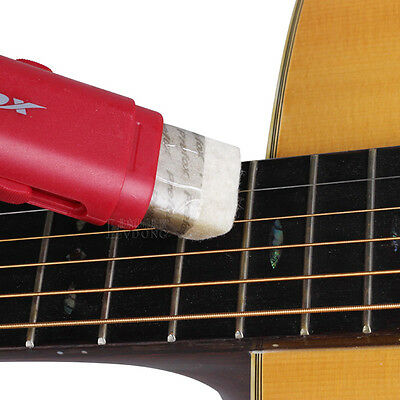 Guitar Clean Tool String Fingerboard Cleaner &Lubricant Polish Creative Design