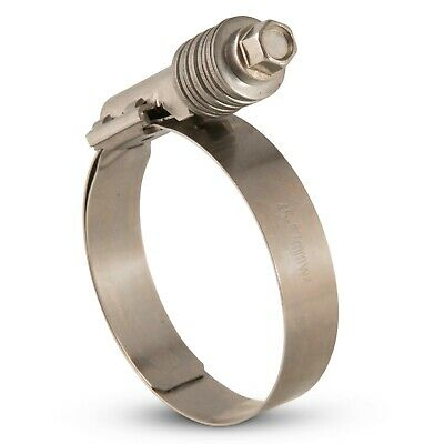 Heavy Duty Hose Clip/Clamp Constant Tension Stainless Steel Exhaust Supra