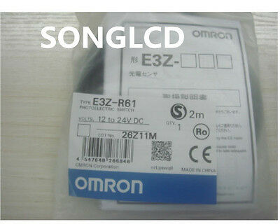 New Omron E3Z-R61 Photoelectric Switch Sens0or Cable E3Z-R61#JO1