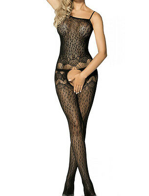 Catsuit Sexy Pizzo Hot Donna Rete Full Body Lingerie Calze Bodystocking Fishnet