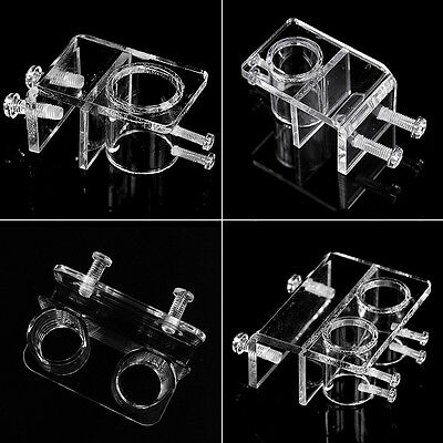 MOCRUX Hose Tube Fixing Clip for 20mm 25mm Water Pipe Aquarium Clamp Holder