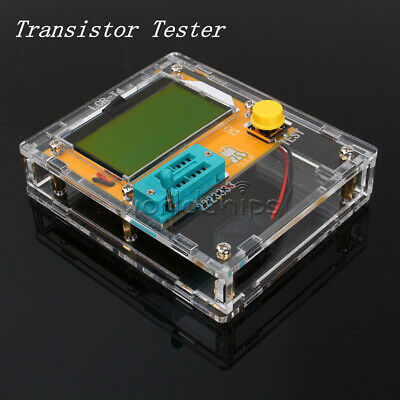 LCR-T4 Mega328 Transistor Tester Diode Triode Capacitance ESR Meter With Shell W