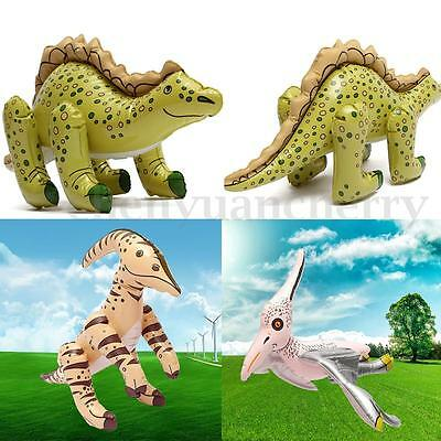 New Inflatable Blow-up Dinosaurs PVC Toy Kids Beach Pool Toy Party Favor 3 types