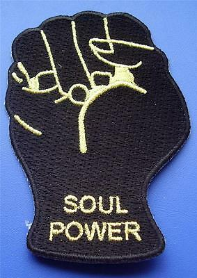 Northern Soul Patch - Soul Power Fist - Black