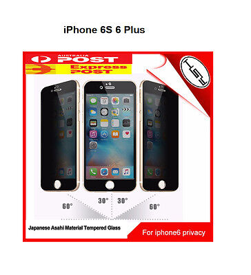 Asahi Glass Anti-Spy Privacy Tempered Glass Screen Protector Iphone 6 Plus