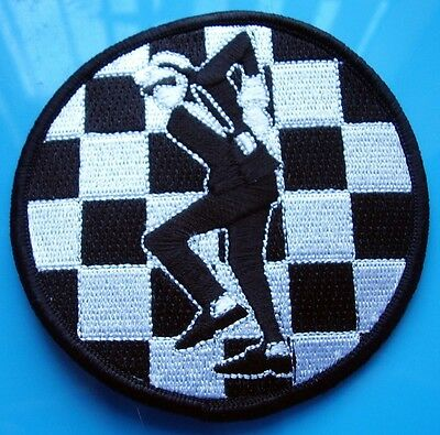 Skinhead Ska Reggae Patch - Ska Man Patch